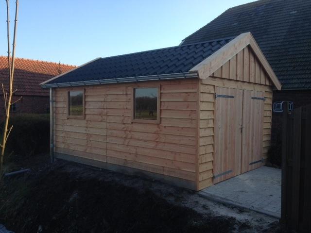 Houtbouw Garage Schuur : Classic schuur 3.00 x 6.00 meter nieuweschuur